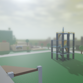 Crossroads but with depth of field