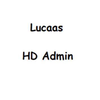 (Shaders Outdated) Lucaas HD Admin